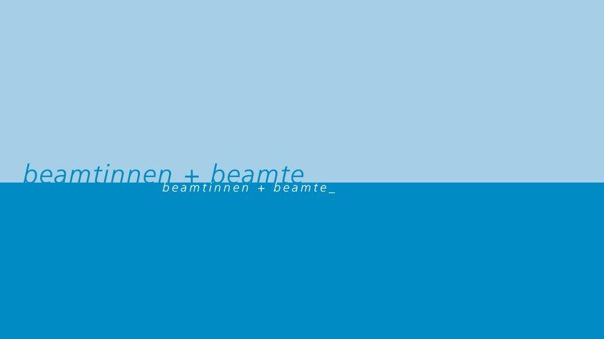 Abbildung des grafischen Elements der Beamtinnen und Beamte