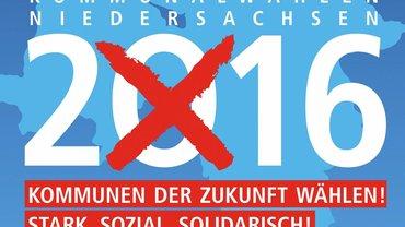 Kommunalwahl 2016 in Niedersachsen