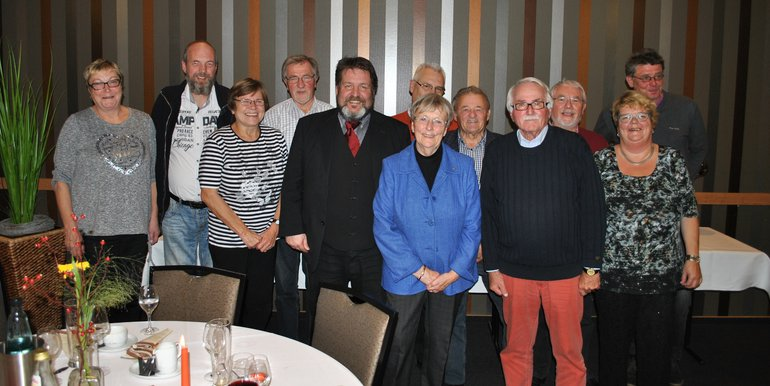 Jubilarehrung 2017 des Ortsverein Buxtehude/Altes Land