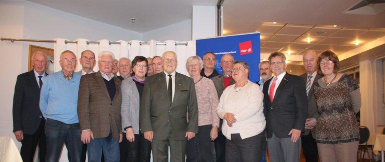 Jubilarehrung 2017 des Ortsverein Osterholz-Scharmbeck am 22.11.2017