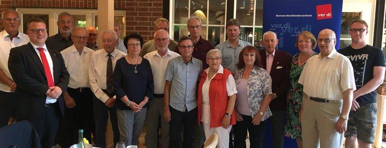 Ortsverein Verden-Rotenburg: Jubilarehrung 2018