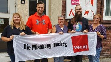 Neuer Vorstand der ver.di-Betriebsgruppe des Magistrats Bremerhaven