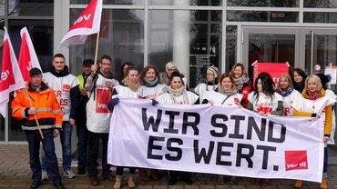 Streik in Osterholz-Scharmbeck