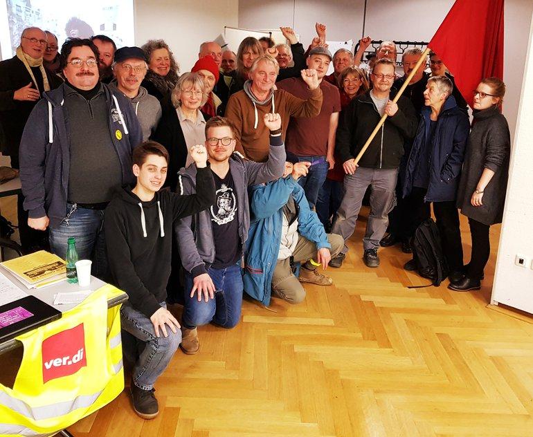 Solidaritätsfoto mit dem heutigen Generalstreik in Frankreich