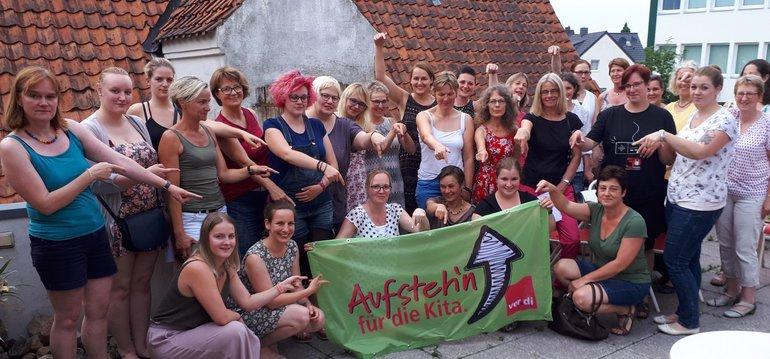 ver.di-KiTa-Rat im Landkreis Diepholz schlägt Alarm für Kindertagesstätten