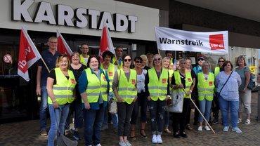 Streiks im Einzelhandel am 07.06.2019 in Bremen