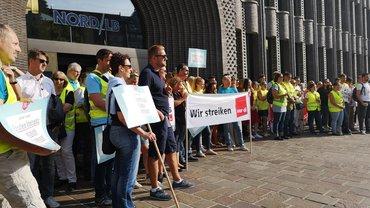 Tarifrunde Banken: Streik am 18.06.2019 in Bremen