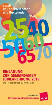 Jubilarehrung 2019: Landkreis Stade und Buxtehude