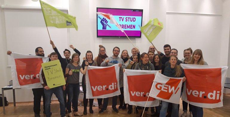 Tarifkommission der studentischen Hilfskräfte des Landes Bremen ist gewählt