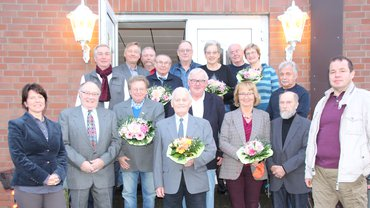Jubilarehrung 2019 des Ortsverein Nienburg am 16.11.2019