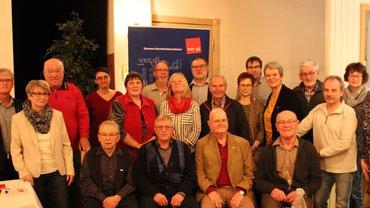 Jubilarehrung 2019 des Ortsverein Bremervörde-Zeven am 27.11.2019