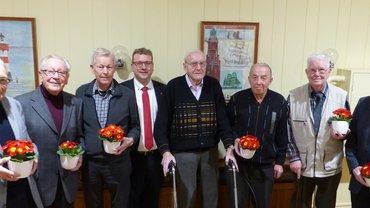 Jubilarehrung 2020 des Ortsverein Bremerhaven am 12.03.2020
