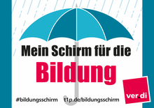 Dein Schirm für die Bildung!