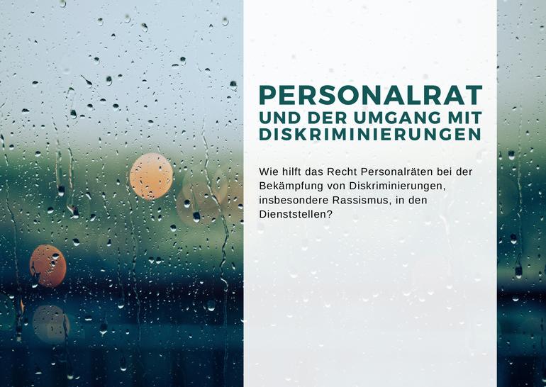 Personalrat und der Umgang mit Diskriminierungen