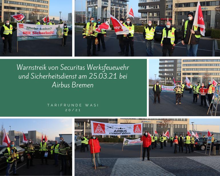 Eine Woche voller Warnstreiks in Bremen und Bremerhaven