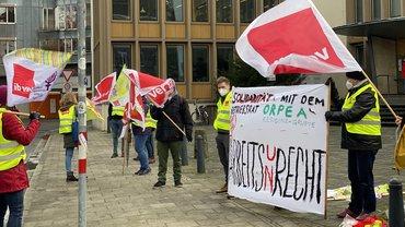 ver.di protestiert erneut gegen Betriebsrats- und Gewerkschaftsmobbing von ORPEA